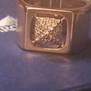 Signed Swarovski Ring